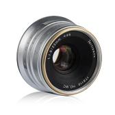 7artisans 25mm F1.8 Lente de Foco Manual Grande Abertura para Sony A7 / A7II / A7R / A7S / A7S / A6500 / A6300 E-Mount Câmeras Mirrorless