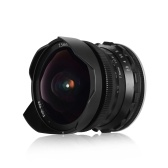 Andoer 7.5mm F2.8 Manual Focus Fisheye Lens 180° Ultra Wide Angle Large Aperture E-Mount Lens