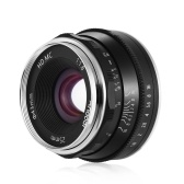 Andoer 25mm F1.8 Manual Focus Lens Large Aperture Mirrorless Camera Lens E-Mount Lens