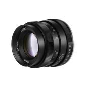 Andoer 35mm F1.2 Manual Focus Camera Lens Large Aperture APS-C