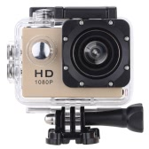"F23 1080p a 30 FPS 12MP 1,5"" schermo impermeabile 30M antiurto 170° grandangolo azione all"