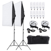 Photo Studio Video Continuous Lighting Kit Equipment