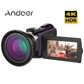 Andoer 524KM 4K 1080P 48MP WiFi Digital Video Camera