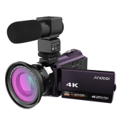 Andoer 4K 1080P 48MP WiFi Digital Videokamera