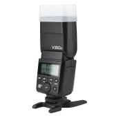 Godox V350S Compact Size 2.4G Speedlite inalámbrico Master / Slave Camera Flash TTL 1 / 8000s HSS Built-in 2000mAh Li-ion Battery con cargador de batería para Sony A77II / A7RII / A7R / A58 / A99 / ILCE6000L / A77II / RX10 / A9