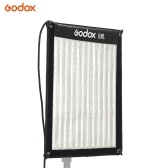 Godox FL60 60W Flexible LED Video Light 3300-5600K Bi-color Foldable Cloth Light with Controller + Remote Control + X-shaped Support 30*45cm Unfolded Size for Portrait Outdoor Studio Shooting