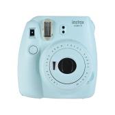 Fujifilm Instax Mini 9 Instant Kamera Film Cam mit Selfie Spiegel, Smokey White