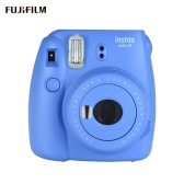 Fujifilm Instax Mini 9 Instant Camera Film Cam with Selfie Mirror, Smokey White