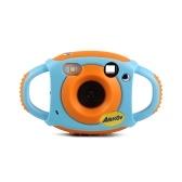 Amkov Cute cyfrowa kamera wideo Max. 5 megapikseli Wbudowana bateria litowa Prezent świąteczny Noworoczny prezent dla dzieci Dzieci Chłopcy Dziewczęta