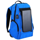 Outdoor Lade Rucksack + USB Port mit Solar Panel