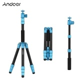 Andoer Q066 51inch Lightweight Portable Travel Camera Tripod Stand Selfie Stick