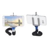 Soporte de cámara flexible del soporte del teléfono del palillo de Selfie del monopod del trípode para el iPhone X / 8 / 7s más para la cámara digital de la cámara de la acción de GoPro Hero 6/5/4/3 + Yi Lite 4K +