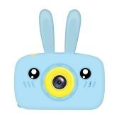 1080P HD Mini Kids Camera 12 Megapixels 2.0 Inch Large Screen Cute Cartoon Bunny Camera for Boys Girls