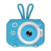 720 P портативная мини-детская камера 20 мегапикселей 2,0-дюймовый экран IPS милый мультфильм животных камера для детей мальчиков девочек