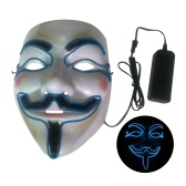 Maschera per Halloween Party LED Maschera Flash spaventosa
