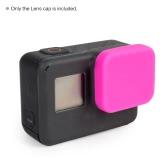 GoProヒーロー5スポーツアクションカメラ用ソフトシリコン保護レンズキャップカバープロテクターアクセサリー