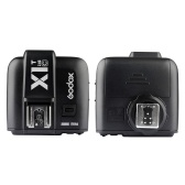 Godox X1T-C TTL 1 / 8000s HSS 32 Canali 2.4G Wireless LCD Flash Trigger Transmitter