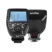 Godox Xpro-C E-TTL II Transmisor de disparo de flash 2.4G Sistema X inalámbrico 32 Canales 16 Grupos Compatibles con TTL Autoflash 1 / 8000s HSS