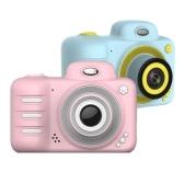 Regali con videocamera Videocamera DSLR Videocamera Dual Lens Cartoon Giocattoli per bambini Mini schermo digitale da 2,4 pollici ABS antiurto senza scheda di memoria