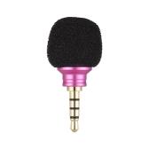 Andoer EY-610A Teléfono móvil Smartphone Mini micrófono de micrófono omnidireccional portátil