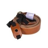 Sacoche et bandoulière en cuir PU avec accès à la batterie pour appareil photo Fujifilm X-A20 X-A5 X-A3 X-A2 X-M1 avec objectif 15-45mm