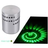 Spiral Wandleuchte LED Nachtlicht