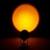 Проекционная лампа Закат Свет Заката Проектор Светодиодный Ночник Романтический Визуальный Окружающий Свет Питание от USB для Гостиной Спальня Студия Декор