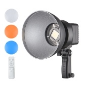 Andoer LED Video Light 150W 6500K 15000LM CRI95+ 10%-100% Dimmable Bowens Mount with 3 Filter Panels Remote Control