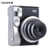 富士フイルムInstaxミニ90ネオクラシックインスタントカメラの写真フィルムのカムと液晶画面のサポートマクロ写真ダブル露出Bシャッター時間セルフル/フラッシュ2シャッター