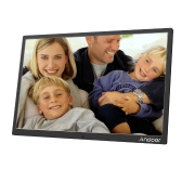 Andoer 17inch Alloy Aluminium LED Digital Photo Frame