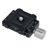 "Andoer DC-34 Quick Release Plate Clamp Adapter with One Quick Release Plate 1/4"" Screw for Arca-Swiss AS Standard QR Tripod Head"