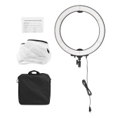 Andoer LA-650D 18inch Foto Video LED Ring Licht 36W Dimmbare 5600K Tageslicht 600 LED Licht für DSLR Kamera Smartphone Youtube Schießen Make-up