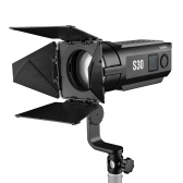 Godox S30 30W Focusing LED Spotlight Adjustable Brightness 5600K CRI 96