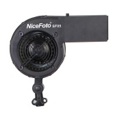 NiceFoto SF05 Studio Photography Wind Hair Blower Stream Fan for Taking Fashion Portrait Photos