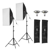 LEBEN DES FOTOS LF-ET5750ⅡStudio Softbox Lighting Kit