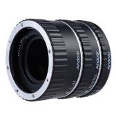 Anillos de enfoque TTL Enfoque automático Autofoco AF Metal de colores Anillo tubo de extensión macro para Canon EOS EF EF-S 60D 7D 5D II 550D