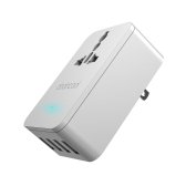 dodocool 20W 4A Smart 4 carregamento Porto portátil Multi-function viagens poder adaptador carregador de parede USB com Universal AC Outlet nos Plug