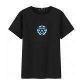 Железная футболка Man3 LED