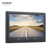 "Andoer AD-701 7 ""* 480 HD Display LCD 400cd / ㎡ High Definition Multimedia Interface de entrada de monitor profesional digital de campo 800 para la cámara DSLR Full HD"