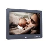 """Andoer 10 """"Wide Screen HD LED cornice digitale Digital Album di alta risoluzione 1280 * 600 foto in formato elettronico Telaio con telecomando funzioni multiple compreso l"""