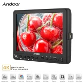 Andoer S7 Professional 7 inch On-Camera Field Monitor IPS Full HD 1920 * 1200 High Resolution Video Monitor Support 4K HD Signal for Sony Canon Nikon BMCC BMPC BMPCC 5D Mark III