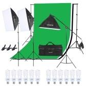 Kit di illuminazione per studio fotografico Andoer
