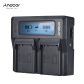 Andoer ENEL14 Dual Channel LCD Camera Battery Charger for Nikon D5600 D5500 D5300 D5200 D5100 D3100 D3200 D3300 D3400