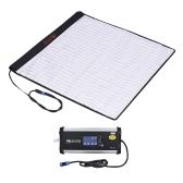 FalconEyes RX-24TDX - Lampe de remplissage à LED en tissu roulable carré