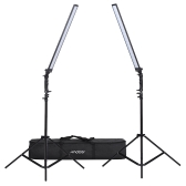 Andoer Photography Studio Kit de iluminación LED Dimmable LED Video Light