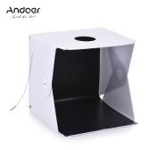 Andoer 40 x 40cm Mini Portable Pliable LED Light Box UE Plug