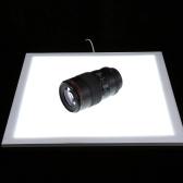 PULUZ 1200LM LED Fotografie Shadowless Softbox Unterlicht + Schalter Schattenfreie Einstellbare Lampenplatte Acryl Material für Foto Schießen Zelt Box Kein Polar Dimming Light