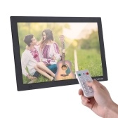 Andoer 15.4 Inch 1280 * 800 HD Digital Photo Frame Electronic Picture Album 1080P Video Music Player with Motion Sensor Scroll Subtitle