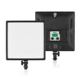 NiceFoto SL-500A Ultra Slim Bi-Color LED luce fotografia luce di riempimento 3200K-6500K CRI 95+ APP mobile Controllo per la registrazione video Studio professionale Fotografia commerciale Fotografia di matrimonio Video in diretta