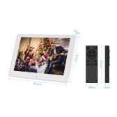 Andoer 10 Inch Digital Photo Frame HD IPS Screen 1280*800 Electronic Album Picture Frame Advertising Machine